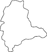 北海道上川総合振興局音威子府村(おといねっぷむら)の白地図無料ダウンロード