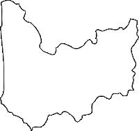 北海道留萌振興局小平町(おびらちょう)の白地図無料ダウンロード