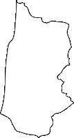 北海道留萌振興局初山別村(しょさんべつむら)の白地図無料ダウンロード