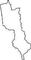 北海道留萌振興局遠別町(えんべつちょう)の白地図無料ダウンロード