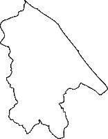 北海道宗谷総合振興局猿払村(さるふつむら)の白地図無料ダウンロード