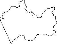 北海道宗谷総合振興局豊富町(とよとみちょう)の白地図無料ダウンロード