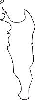 北海道宗谷総合振興局礼文町(れぶんちょう)の白地図無料ダウンロード