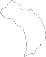 北海道宗谷総合振興局利尻富士町(りしりふじちょう)の白地図無料ダウンロード