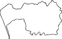 北海道宗谷総合振興局幌延町(ほろのべちょう)の白地図無料ダウンロード