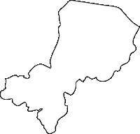 北海道オホーツク総合振興局佐呂間町(さろまちょう)の白地図無料ダウンロード