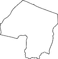 北海道オホーツク総合振興局湧別町(ゆうべつちょう)の白地図無料ダウンロード