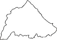 北海道オホーツク総合振興局雄武町(おうむちょう)の白地図無料ダウンロード
