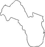 北海道オホーツク総合振興局大空町(おおぞらちょう)の白地図無料ダウンロード