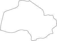 北海道胆振総合振興局壮瞥町(そうべつちょう)の白地図無料ダウンロード