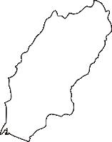 北海道胆振総合振興局厚真町(あつまちょう)の白地図無料ダウンロード