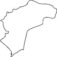 北海道胆振総合振興局洞爺湖町(とうやこちょう)の白地図無料ダウンロード