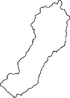 北海道胆振総合振興局むかわ町(むかわちょう)の白地図無料ダウンロード