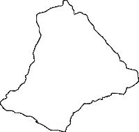 北海道日高振興局浦河町(うらかわちょう)の白地図無料ダウンロード