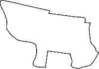 北海道十勝総合振興局士幌町(しほろちょう)の白地図無料ダウンロード