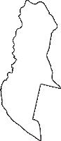 北海道十勝総合振興局鹿追町(しかおいちょう)の白地図無料ダウンロード