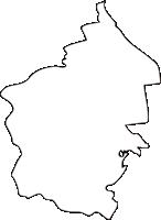 北海道十勝総合振興局清水町(しみずちょう)の白地図無料ダウンロード