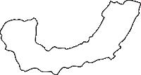 北海道十勝総合振興局中札内村(なかさつないむら)の白地図無料ダウンロード