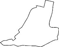 北海道十勝総合振興局更別村(さらべつむら)の白地図無料ダウンロード