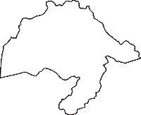 北海道十勝総合振興局陸別町(りくべつちょう)の白地図無料ダウンロード
