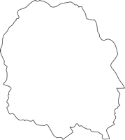 北海道釧路総合振興局弟子屈町(てしかがちょう)の白地図無料ダウンロード
