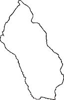 北海道釧路総合振興局鶴居村(つるいむら)の白地図無料ダウンロード