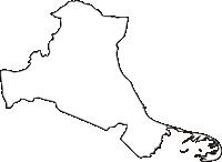 北海道根室振興局標津町(しべつちょう)の白地図無料ダウンロード