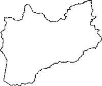 青森県十和田市(とわだし)の白地図無料ダウンロード