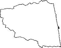 青森県東津軽郡蓬田村(よもぎたむら)の白地図無料ダウンロード