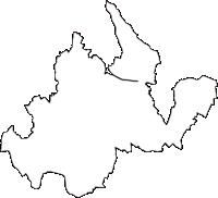 青森県南津軽郡藤崎町(ふじさきまち)の白地図無料ダウンロード