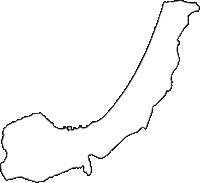 青森県上北郡野辺地町(のへじまち)の白地図無料ダウンロード