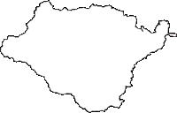 青森県上北郡七戸町(しちのへまち)の白地図無料ダウンロード