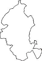 青森県上北郡六戸町(ろくのへまち)の白地図無料ダウンロード