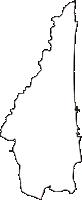 青森県上北郡六ヶ所村(ろっかしょむら)の白地図無料ダウンロード
