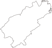 青森県三戸郡五戸町(ごのへまち)の白地図無料ダウンロード