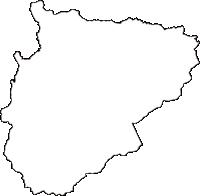 青森県三戸郡田子町(たっこまち)の白地図無料ダウンロード