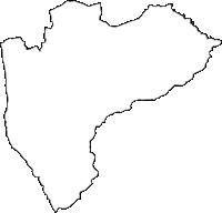 青森県三戸郡階上町(はしかみちょう)の白地図無料ダウンロード