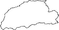 青森県三戸郡新郷村(しんごうむら)の白地図無料ダウンロード