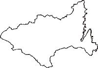 岩手県宮古市(みやこし)の白地図無料ダウンロード