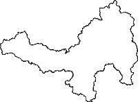 岩手県一関市(いちのせきし)の白地図無料ダウンロード