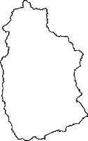 岩手県八幡平市(はちまんたいし)の白地図無料ダウンロード