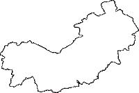 ������������������������������������������の白地図無料ダウンロード