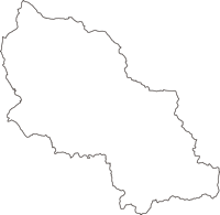 岩手県岩手郡岩手町(いわてまち)の白地図無料ダウンロード
