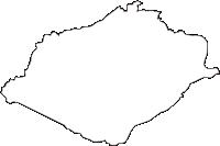 岩手県胆沢郡金ケ崎町(かねがさきちょう)の白地図無料ダウンロード