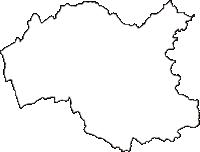 岩手県九戸郡軽米町(かるまいまち)の白地図無料ダウンロード