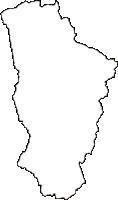 岩手県九戸郡九戸村(くのへむら)の白地図無料ダウンロード