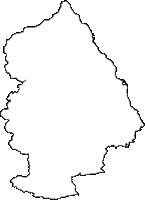 岩手県九戸郡洋野町(ひろのちょう)の白地図無料ダウンロード