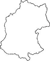 岩手県二戸郡一戸町(いちのへまち)の白地図無料ダウンロード