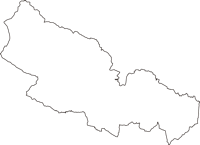宮城県仙台市泉区(いずみく)の白地図無料ダウンロード