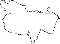 宮城県名取市(なとりし)の白地図無料ダウンロード